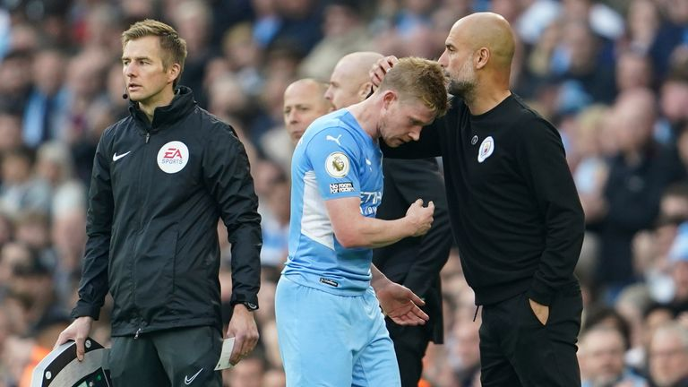 Manchester City boss Pep Guardiola has been a keen supporting in increasing the number of substitutes allowed during games