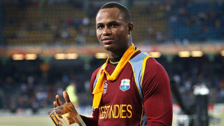 Marlon Samuels scored 78 in the 2012 final to help West Indies beat Sri Lanka
