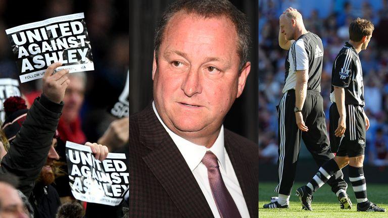 Mike Ashley's Newcastle United era