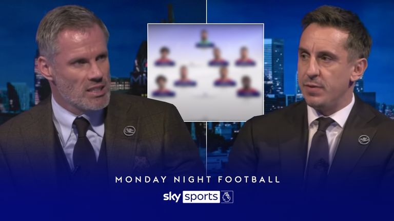 MNF: Carragher and Neville's combined XI for Man Utd v Liverpool
