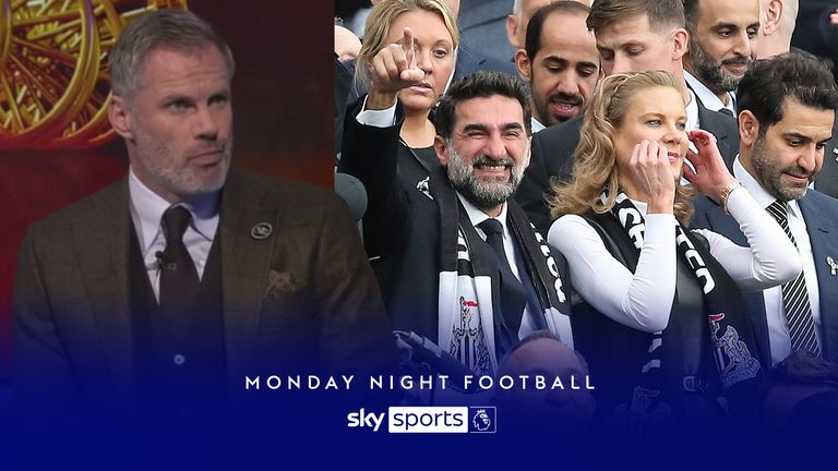 MNF: Carragher on Newcastle ownership