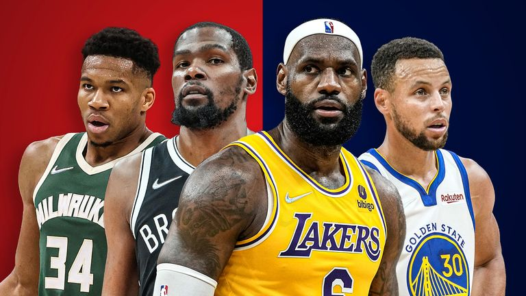 Four of the league's true superstars are in action on opening night... but who is actually the best player in the league heading into the 2021/22 season?