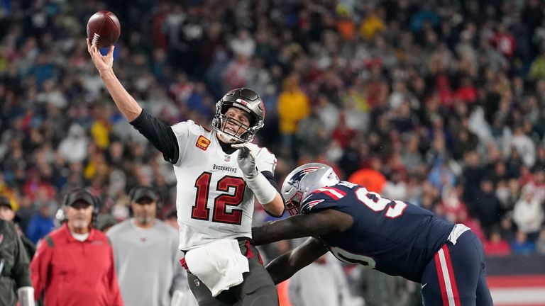 Highlights of the Tampa Bay Buccaneers against the New England Patriots from Week 4 of the 2021 season