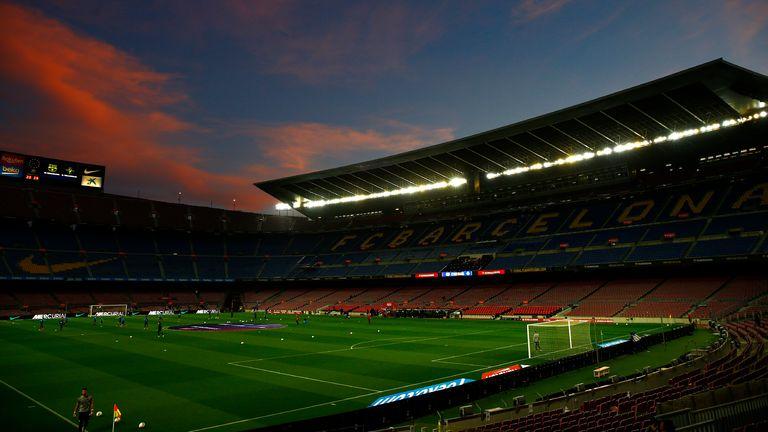 Barcelona Camp Nou (AP)