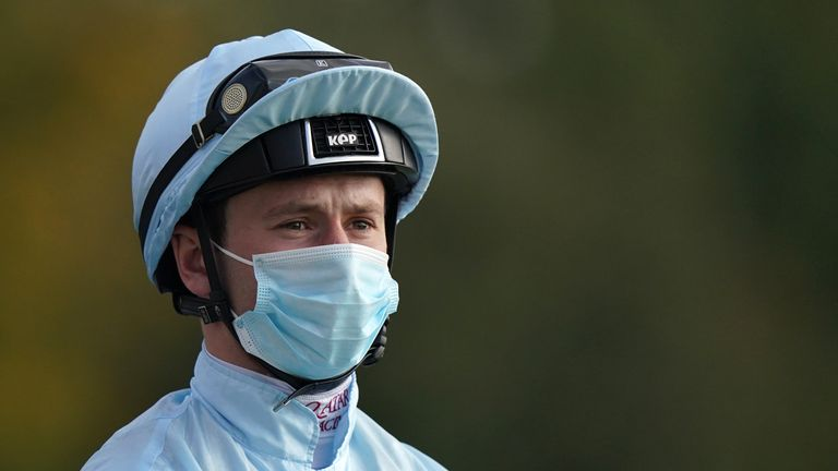 Murphy was stood down from Friday's action at Newmarket after failing an on-course breathalyzer test