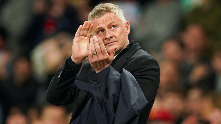 Ole Gunars Solskjaers, Manchester United treneris