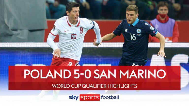 Poland 5-0 San Marino