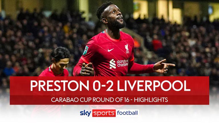 Preston 0-2 Liverpool