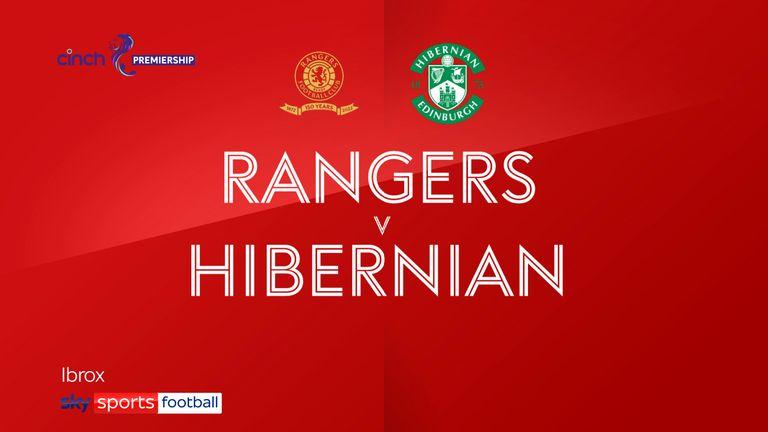 Rangers 2-1 Hibs