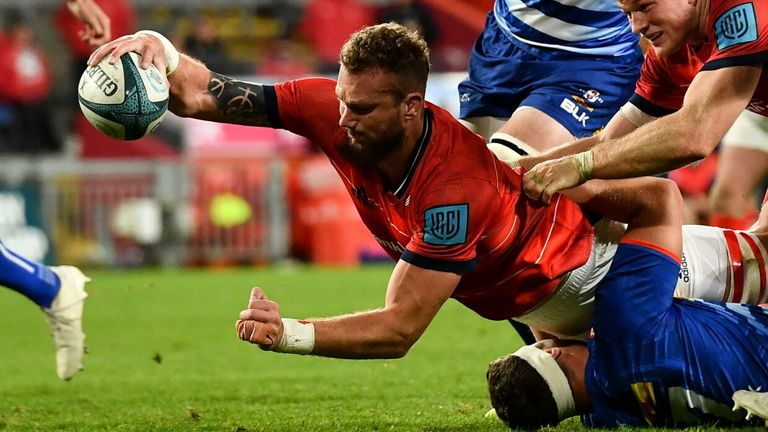 Snyman scored for Munster off the bench in the second game of the 2021/22 season