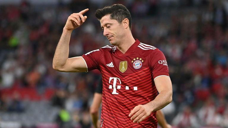 Robert Lewandowski non è riuscito a ispirare il Bayern Monaco