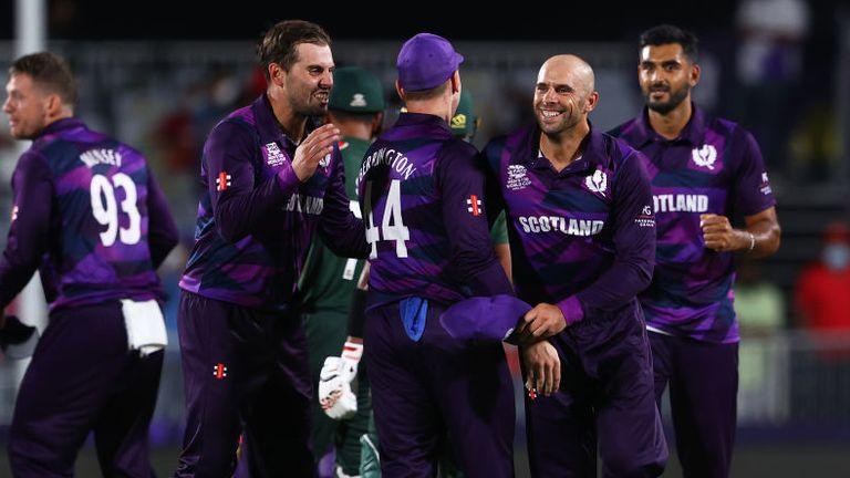 Scotland beat Bangladesh by six runs in their World T20 opener