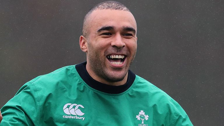Simon Zebo returns to Ireland squad for Autumn Nations Series after four-year absence |  Rugby Union News