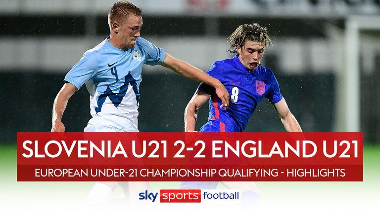 Slovenia 2-2 England U21