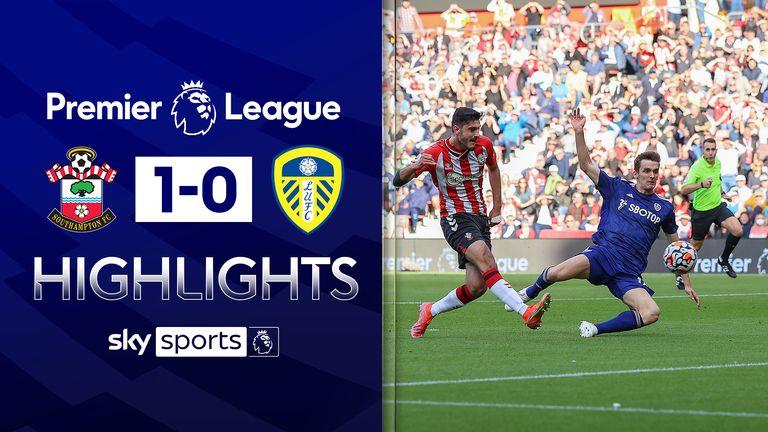 Southampton v Leeds highlights