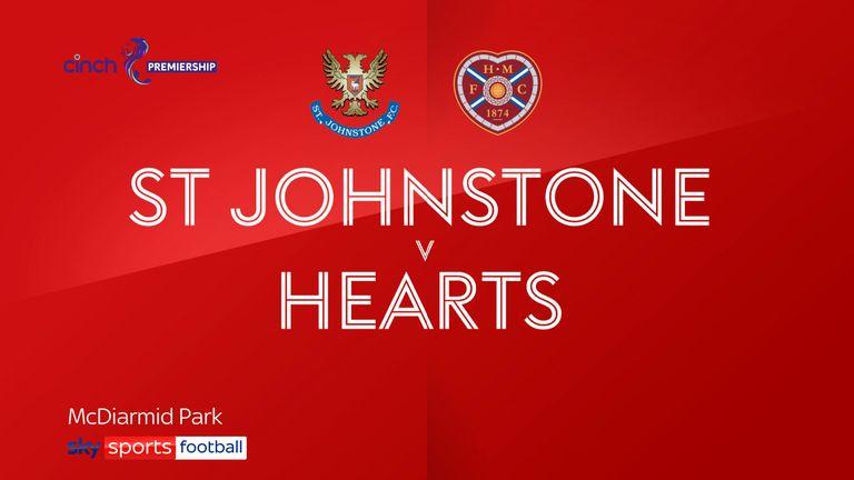 St Johnstone v Hearts