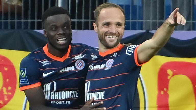 Stephy Mavididi scored the winning goal for Montpellier against Lens