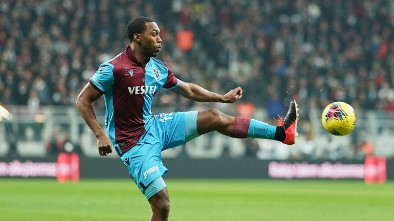 Daniel Sturridge's spell in Turkey was short-lived after he was handed a four-month ban