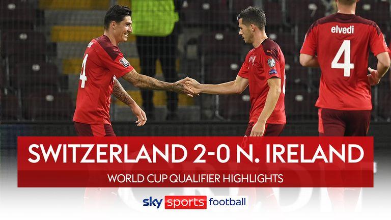 Switzerland 2-0 N. Ireland