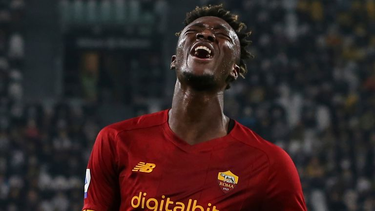 Tammy Abraham had a goal ruled out for Roma