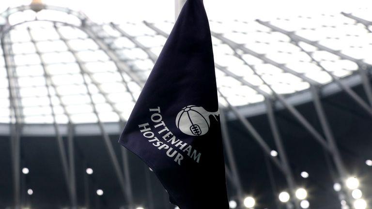 Tottenham Hotspur flag (PA)