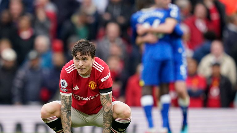 Victor Lindelof reflects on the 1-1 draw with Everton at Old Trafford (Andrew Yates/CSM via ZUMA Wire)