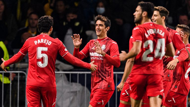 Villarreal eased to victory in Austria