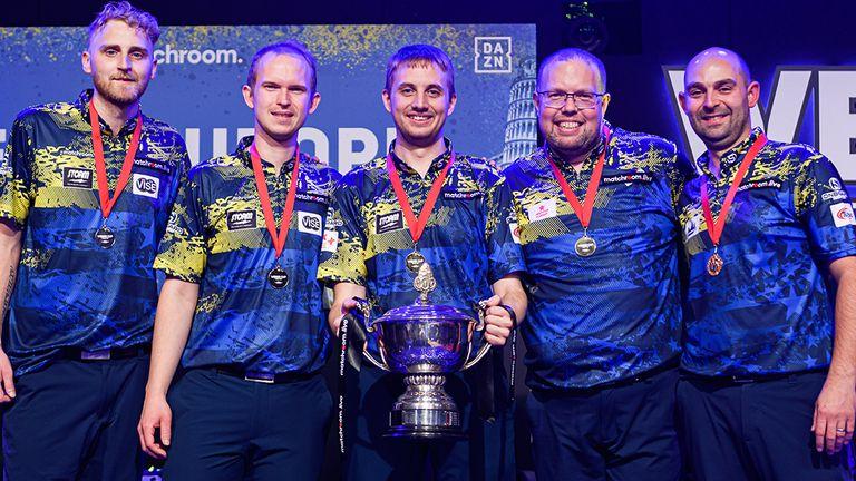 L'équipe d'Europe a effectué un retour époustouflant pour vaincre l'équipe des États-Unis 18-17 et récupérer la Weber Cup (Photo gracieuseté de Taka Wu/Matchroom Multi Sport)