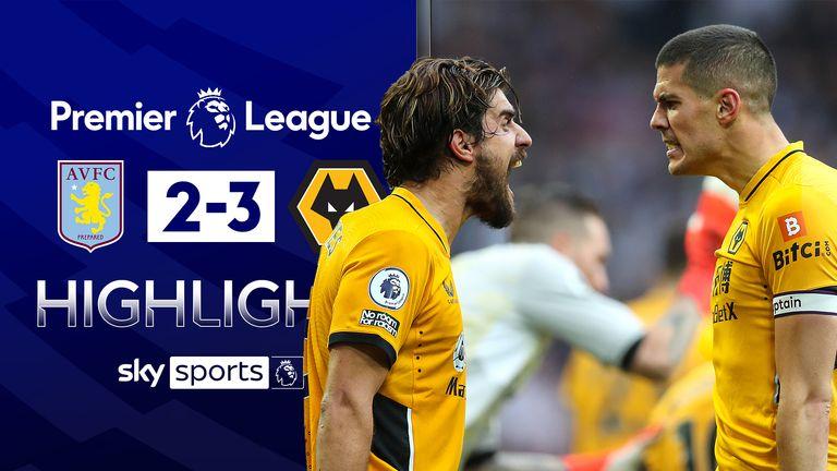 Aston Villa v Wolves highlights