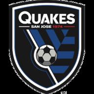 SJ E'Quakes badge